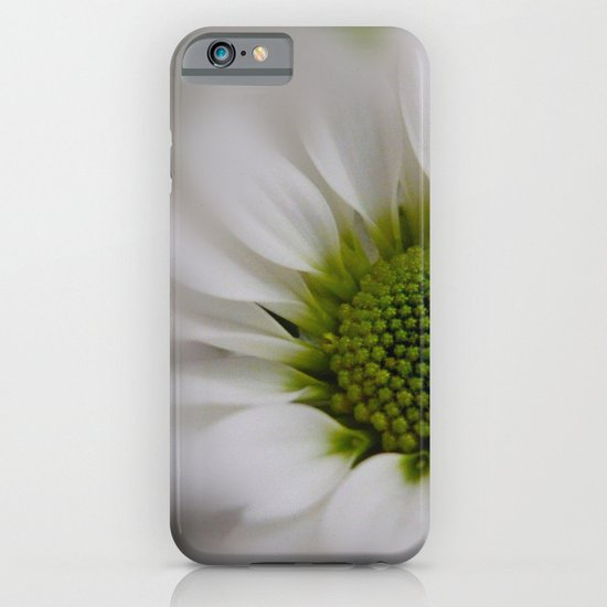 White Marguerite iPhone & iPod Case