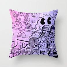 Funky Town pt. 1 Throw Pillow