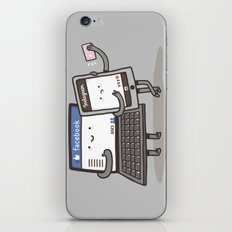 Internet Addiction iPhone & iPod Skin