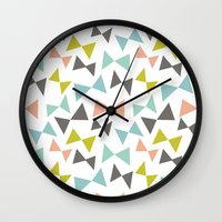 Spring bows Wall Clock