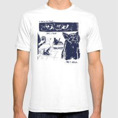 I Watch You Poop... and I Judge Mens Fitted Tee SMALL White