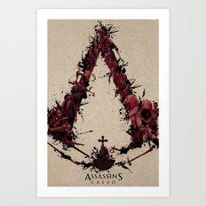 Assassin's Creed Saga Art Print