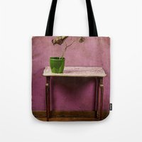 The colorful decay of plants Tote Bag