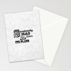 Spontaneity Stationery Cards