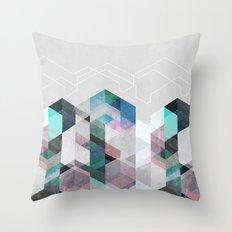 Nordic Combination 23 Throw Pillow