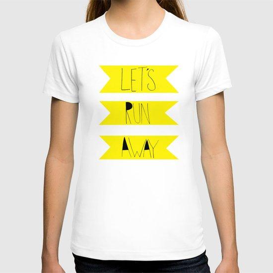 Let's Run Away: Forest Park T-shirt