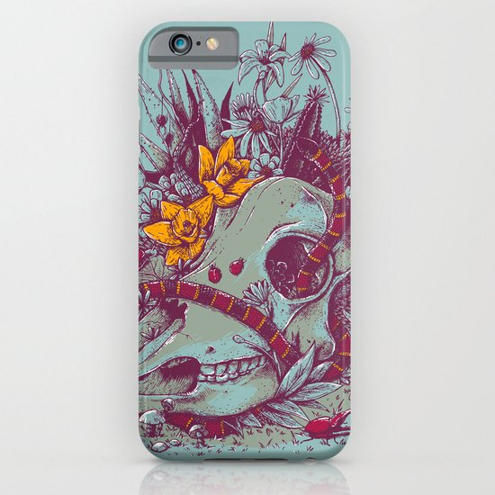 Death Blooms iPhone & iPod Case