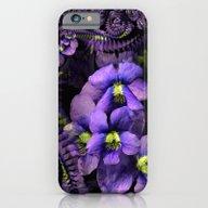 Ground Violet Fractal iPhone 6 Slim Case