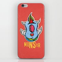 Cute Monster iPhone & iPod Skin