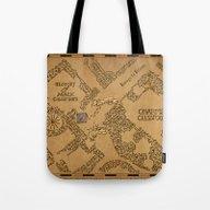 Tote Bag featuring Evening Visit by Karen Hallion Illust…