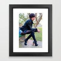 Fashion Pic Framed Art Print
