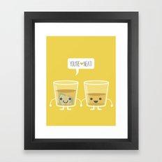 You're Neat! Framed Art Print