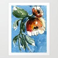 Water Blooms Art Print