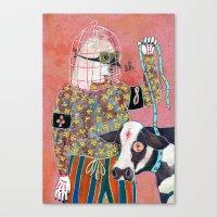 Otage Canvas Print