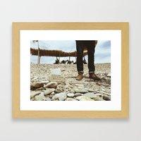 Donations For Victor Framed Art Print