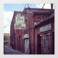 Blues Alley (Washington,… Canvas Print