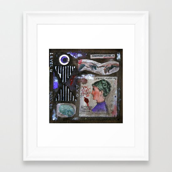 LEVEL 4 Framed Art Print