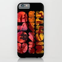 iPhone & iPod Case featuring COLD SUMMER NIGHTS by KIMKONG