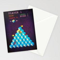 Qbert Unicorn Stationery Cards