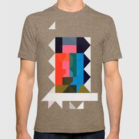 Color Story - Niche Mens Fitted Tee Tri-Coffee SMALL
