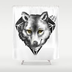 The Bad Wolf Shower Curtain