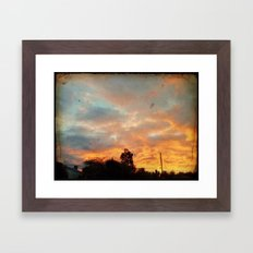Almost Missed It Framed Art Print