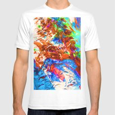 The Dragon's Back #14 Mens Fitted Tee White SMALL