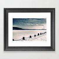 Stillwater Framed Art Print