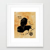 The Right Path Framed Art Print