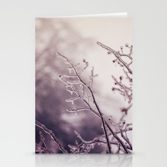 reaching Stationery Card