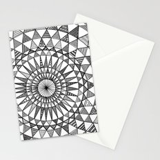Doily in B&W Stationery Cards