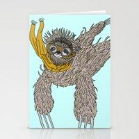 Impulsive Sloth Stationery Cards