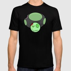 Zombie Toad Mens Fitted Tee Black SMALL