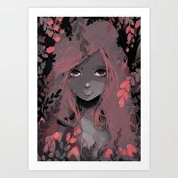 Pia Art Print