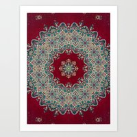 mandala Art Prints featuring Nada Brahma   by Elias Zacarias