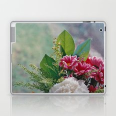 Pink Bouquet Laptop & iPad Skin