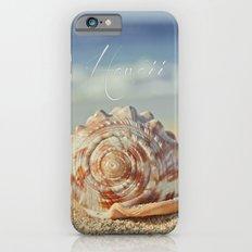 Kapukaulua Aia I Laila Ke Aloha Island Dreams iPhone 6 Slim Case