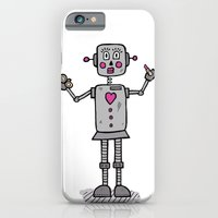 robot iPhone & iPod Cases featuring Robot by Deesign