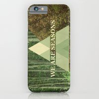 iPhone & iPod Case featuring we are seasons by Pope Saint Victor