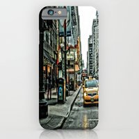 iPhone & iPod Case featuring Hot Times in The City by Laura Santeler