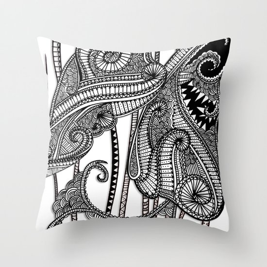 Proposal Accepted Throw Pillow