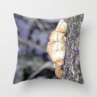 Fungus Throw Pillow