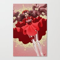 Reckonings of Red Canvas Print