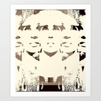 She's Remixed Art Print