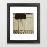 this dream Framed Art Print