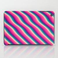 Abstract Color Burn Patt… iPad Case