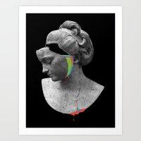 Art Print featuring Skin Deep by Eric Zelinski