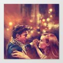 The Waltz Canvas Print