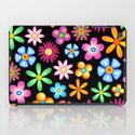 Spring Flowers Colorful Naif Design iPad Case