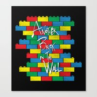 Brick in the Wall Canvas Print